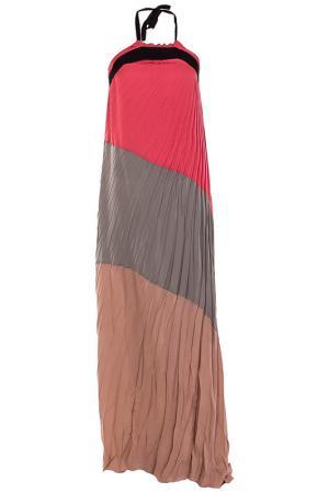 Платье Nude. Цвет: цветной
