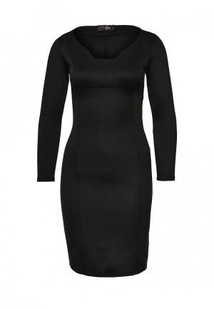 Платье SK House. Цвет: черный