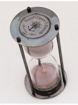 Песочные часы Вахтенный офицер Экспедиция. Цвет: бронзовый