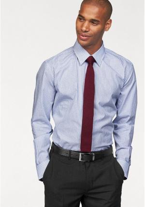 Рубашка Class International. Цвет: белый/синий в клетку