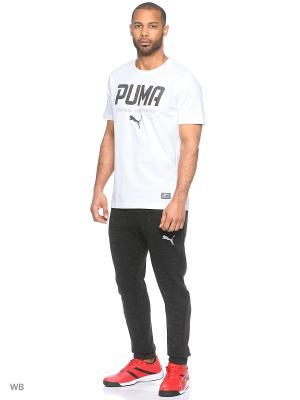Брюки Evostripe SpaceKnit Pants Puma. Цвет: черный