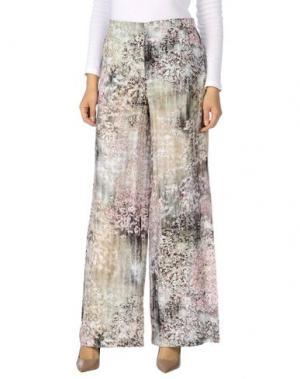 Повседневные брюки NOT SHY. Цвет: светло-зеленый