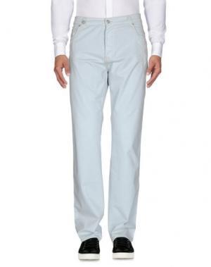 Повседневные брюки NICWAVE. Цвет: небесно-голубой