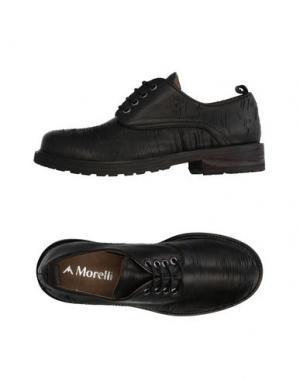 Обувь на шнурках ANDREA MORELLI. Цвет: черный