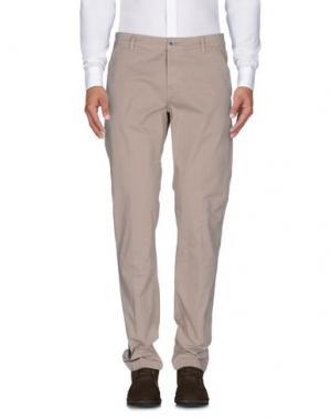 Повседневные брюки CAMOUFLAGE AR AND J.. Цвет: песочный