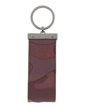 Брелок для ключей VALENTINO GARAVANI. Цвет: темно-коричневый