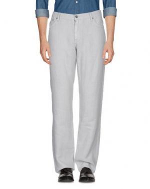 Повседневные брюки JOHN VARVATOS ★ U.S.A.. Цвет: светло-серый