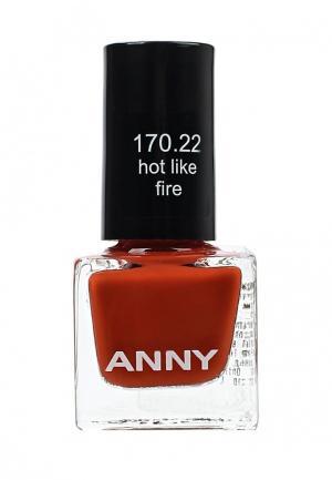Лак для ногтей Anny. Цвет: красный