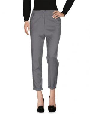 Повседневные брюки BOUTIQUE de la FEMME. Цвет: серый