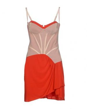 Короткое платье BETTY BLUE. Цвет: красный