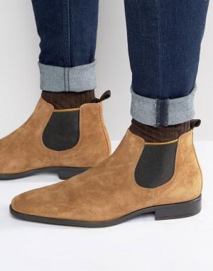 Dune Замшевые ботинки челси Marlown. Цвет: рыжий