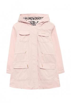 Куртка Esprit. Цвет: розовый