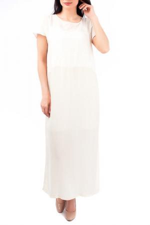 Платье EUROPEAN CULTURE. Цвет: светло-бежевый