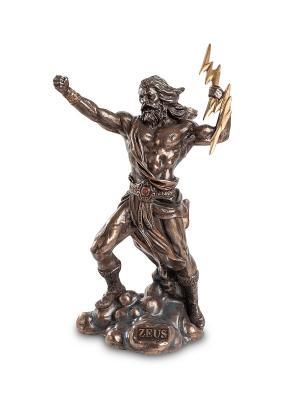 Статуэтка Зевс - Громовержец Veronese. Цвет: бронзовый