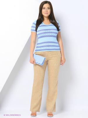Кофточка Veronika Style. Цвет: голубой
