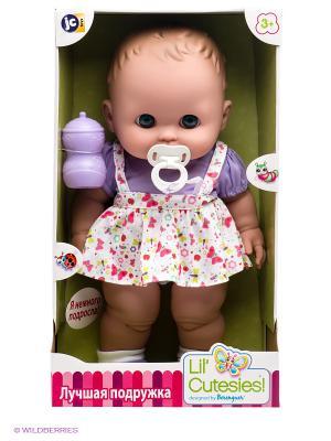 Кукла JC Toys. Цвет: бежевый, фиолетовый