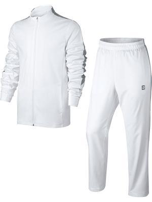 Спортивный костюм M NKCT WOVEN WARM UP Nike. Цвет: белый, серый