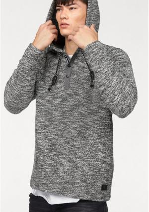 Пуловер JOHN DEVIN. Цвет: серый меланжевый