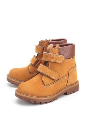 Ботинки Castler. Цвет: оранжевый