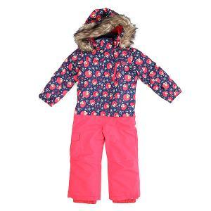 Комбинезон сноубордический детский  Paradise Suit K Snsu Elmo Print_blueprint Roxy. Цвет: синий,розовый