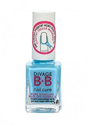Лак для ногтей Divage. Цвет: голубой