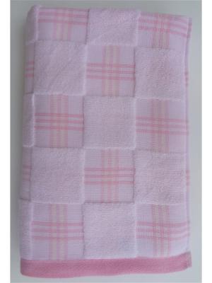 Банное полотенце A and C Collection. Цвет: розовый