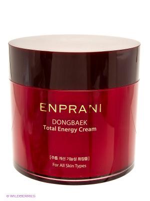 Увлажняющий и питательный крем с маслом камелии 200 мл Enprani. Цвет: красный