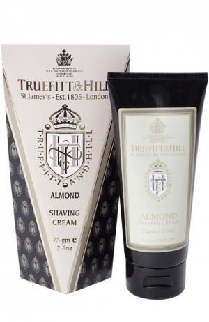Крем для бритья в тюбике Almond Truefitt&Hill. Цвет: бесцветный