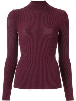 Трикотажная блузка Cecilia Prado. Цвет: красный