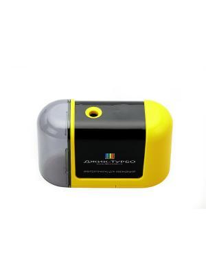 Точилка для карандашей на батарейках Джик-Турбо. Цвет: желтый