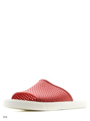 Шлепанцы CROCS. Цвет: красный