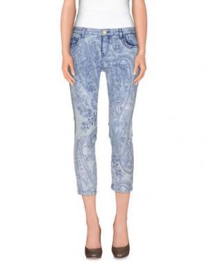 Джинсовые брюки NELL&ME. Цвет: небесно-голубой