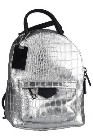 Рюкзак FLORENCE BAGS. Цвет: silver