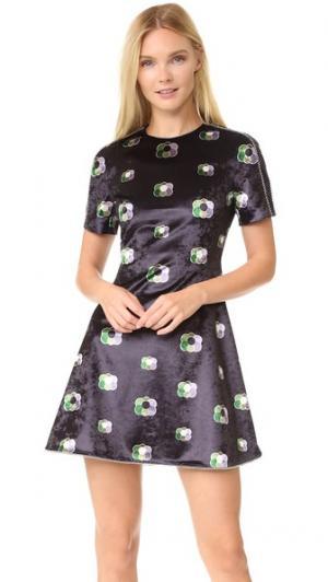 Платье J KOO. Цвет: принт