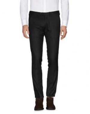 Повседневные брюки ROBERTO PEPE. Цвет: темно-коричневый