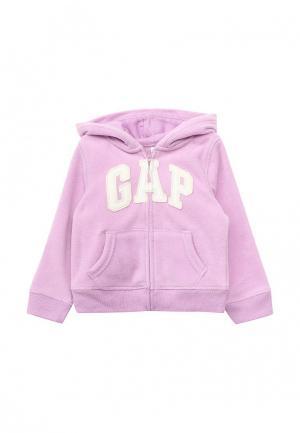 Толстовка Gap. Цвет: фиолетовый