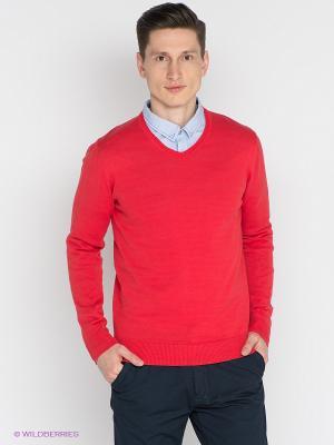 Пуловер Mezaguz. Цвет: красный
