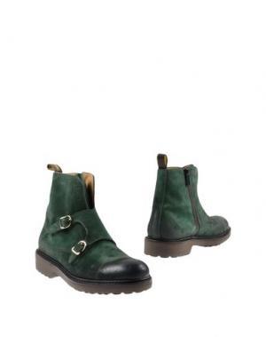 Полусапоги и высокие ботинки DOUCAL'S. Цвет: изумрудно-зеленый
