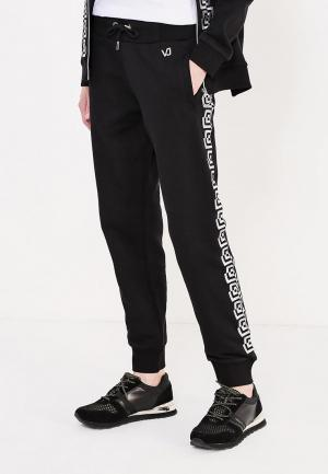 Брюки спортивные Versace Jeans. Цвет: черный