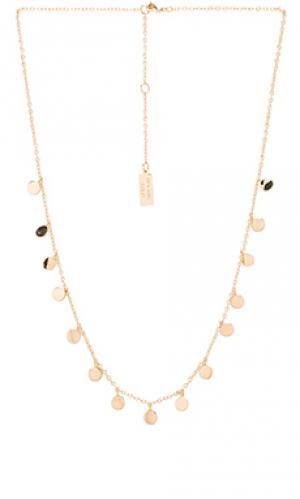 Ожерелье Melanie Auld. Цвет: золотой