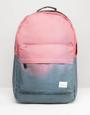 Spiral Рюкзак с выцветшим эффектом. Цвет: серый