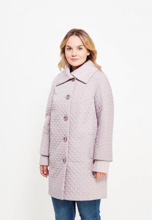 Куртка утепленная Оджи. Цвет: розовый