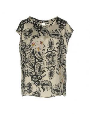Блузка SHIRTAPORTER. Цвет: слоновая кость