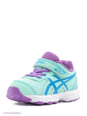 Спортивная обувь GT-1000 5 TS ASICS. Цвет: зеленый, синий, сиреневый