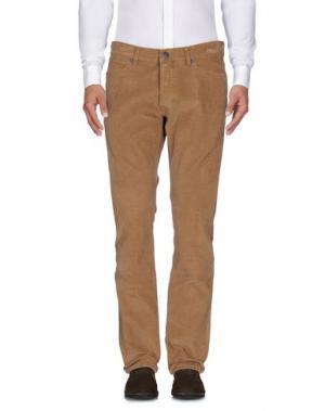 Повседневные брюки WRANGLER. Цвет: коричневый