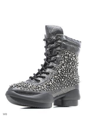 Ботинки EGGA. Цвет: серый