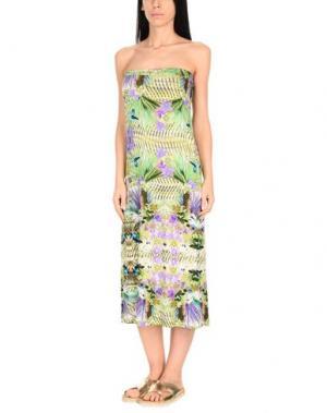 Пляжное платье MISS BIKINI. Цвет: зеленый
