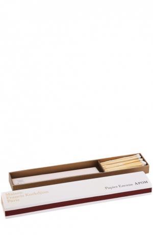 Ароматическая бумага Apom Maison Francis Kurkdjian. Цвет: бесцветный