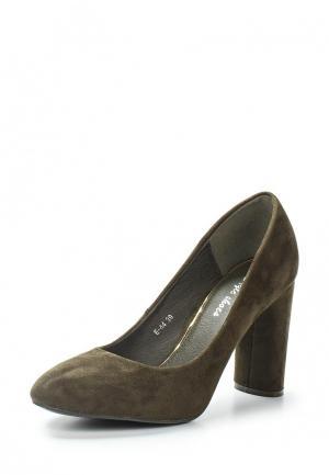 Туфли Style Shoes. Цвет: зеленый