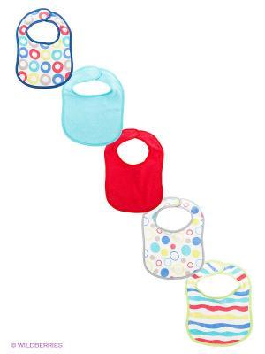 Комплект для новорожденных Luvable Friends. Цвет: синий, серый, салатовый, голубой, красный